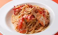 【限定メニュー】花咲蟹のトマトクリームソーススパゲッティ