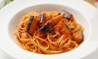 ナスとイタリア産モッツァレラチーズのトマトソーススパゲッティセット