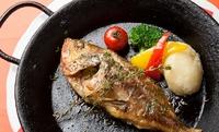 本日鮮魚料理の香草オーブン焼き